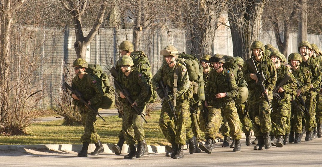 Canadian military officers to perform combat training at Downsview Park