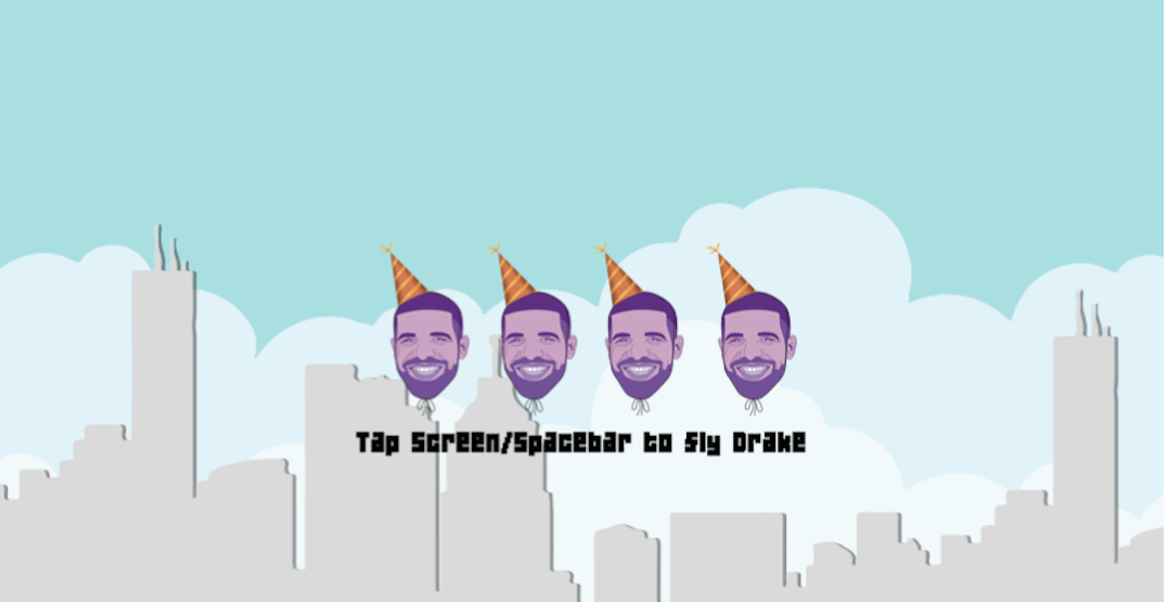 A Drake video game has been invented to celebrate the rapper's birthday
