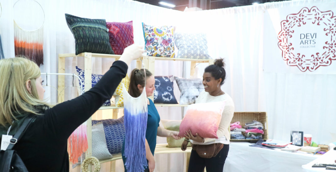 Calgary's handmade market returns to the Big Four Building this week
