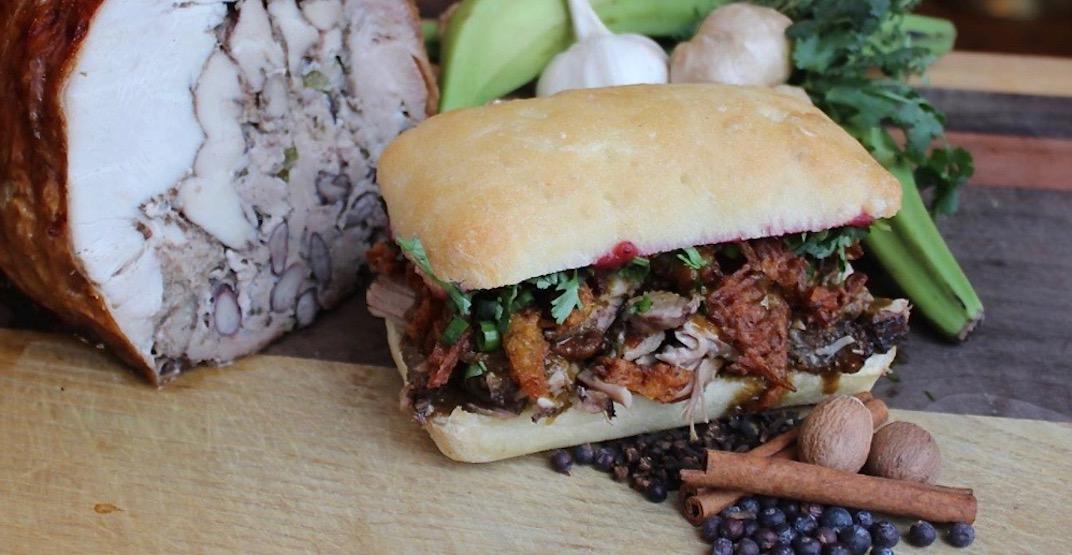 The Turducken Sandwich