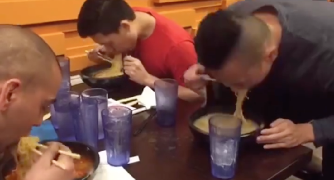 Watch this guy destroy Yuu's Ramen Challenge in 56 seconds (VIDEO)