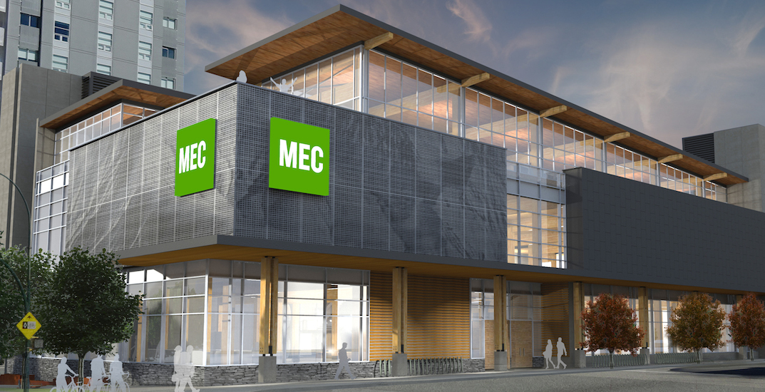 Mec vancouver flagship store olympic village