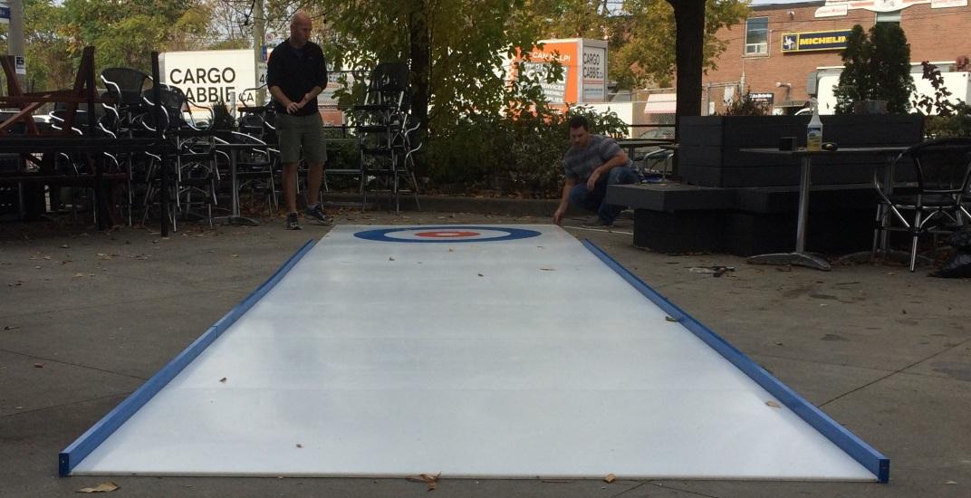 curling rink Dundas & Carlaw