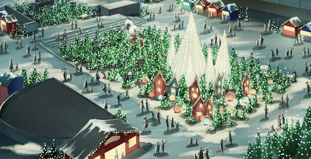 One of Montreal's biggest Christmas markets is returning this year