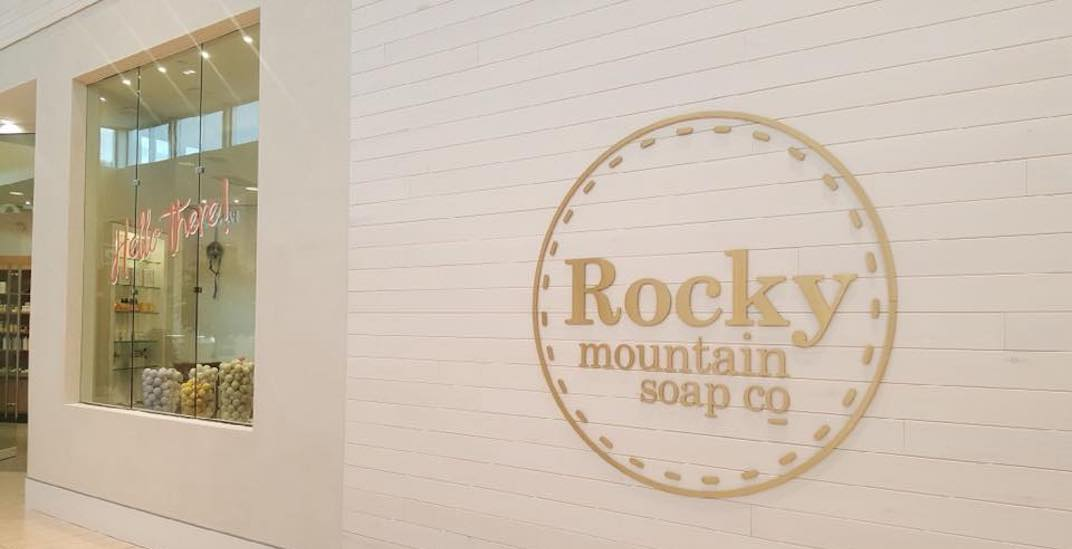 Rocky Mountain Soap Company opens new store in Calgary's Chinook Centre