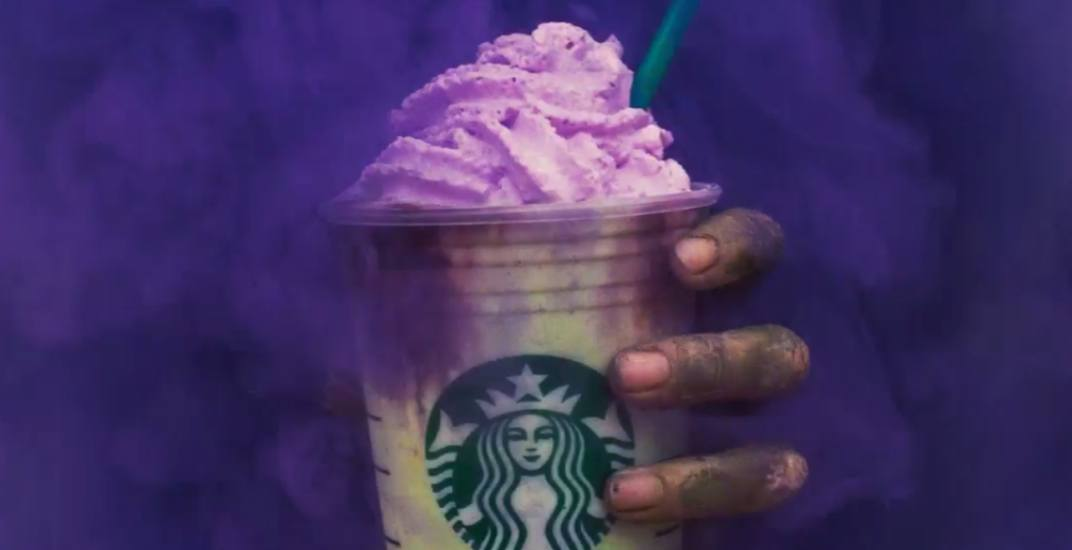 Starbucks just unleashed the Zombie Frappuccino in Canada
