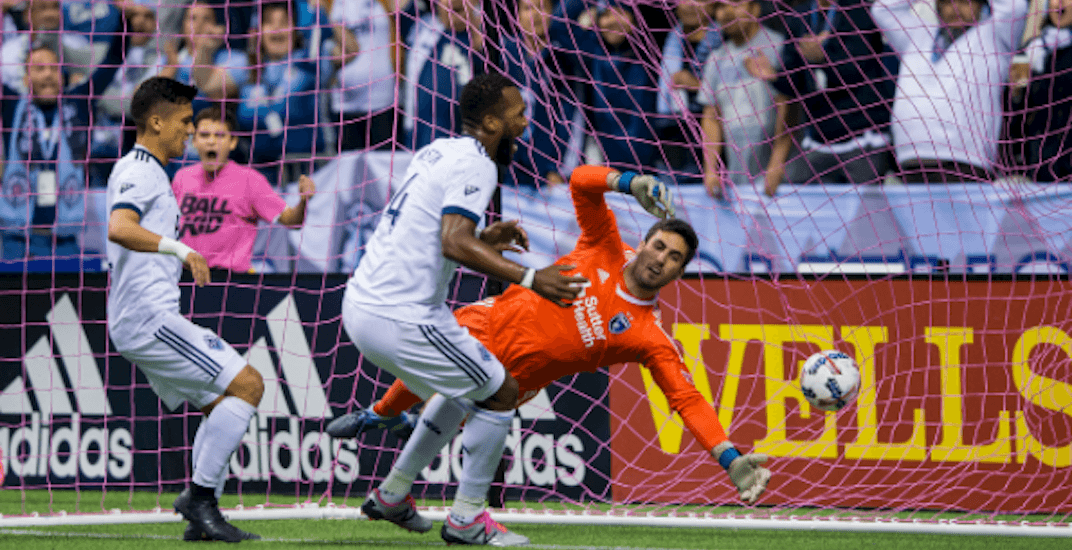 Whitecaps destroy San Jose for first-ever playoff win