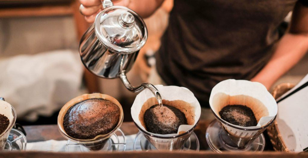 Pour-over coffee/Shutterstock