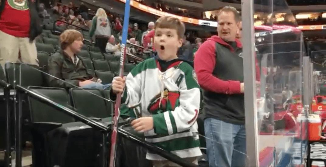 Minnesota wild kid