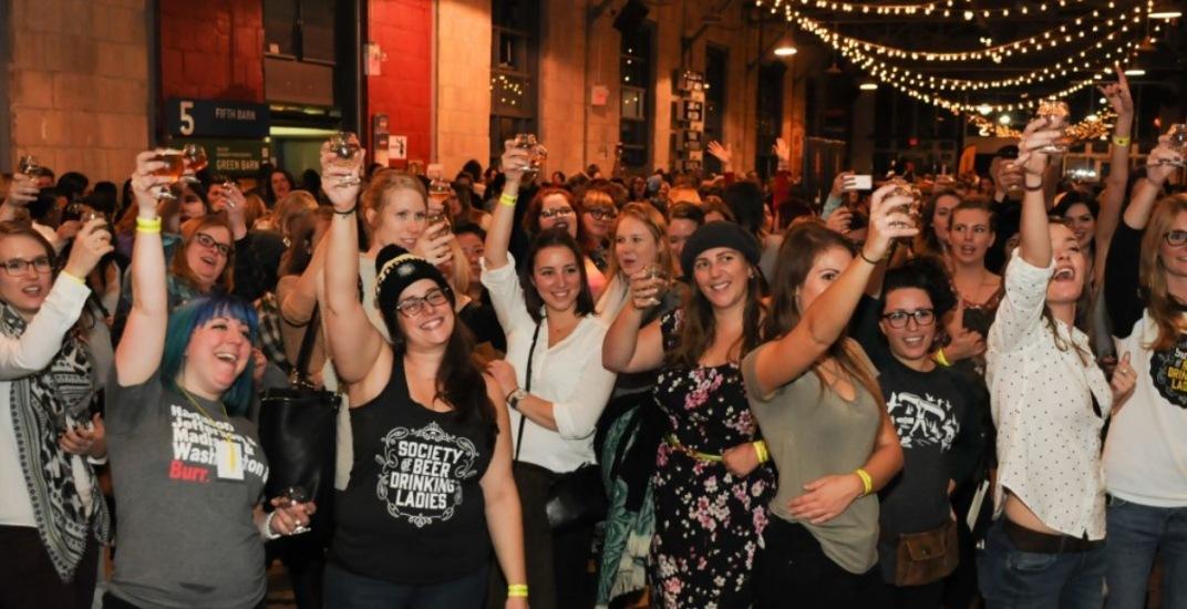 The Society of Beer Drinking Ladies ladies craft beer festival
