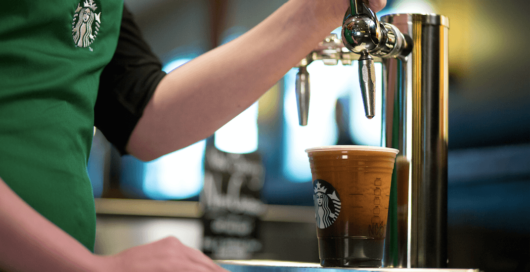 Starbucks Nitro Cold Brew is now officially being served in Montreal