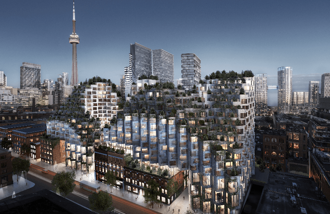 Development proposal for King West shows vibrant new neighbourhood (RENDERINGS)