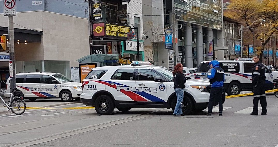 Police close down King West to investigate reports of person with gun