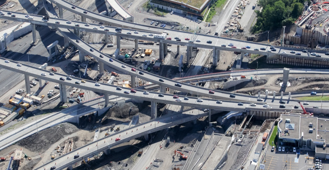 Long-term changes to the Turcot Interchange come into effect on December 10