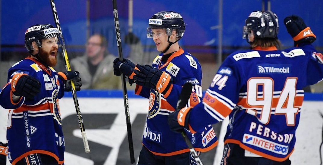 SHL: Canucks Prospect Pettersson Is Leading The Swedish Hockey League In Scoring