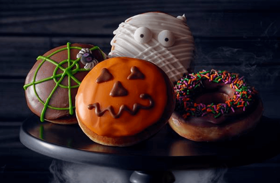 Krispy Kreme Doughnuts halloween