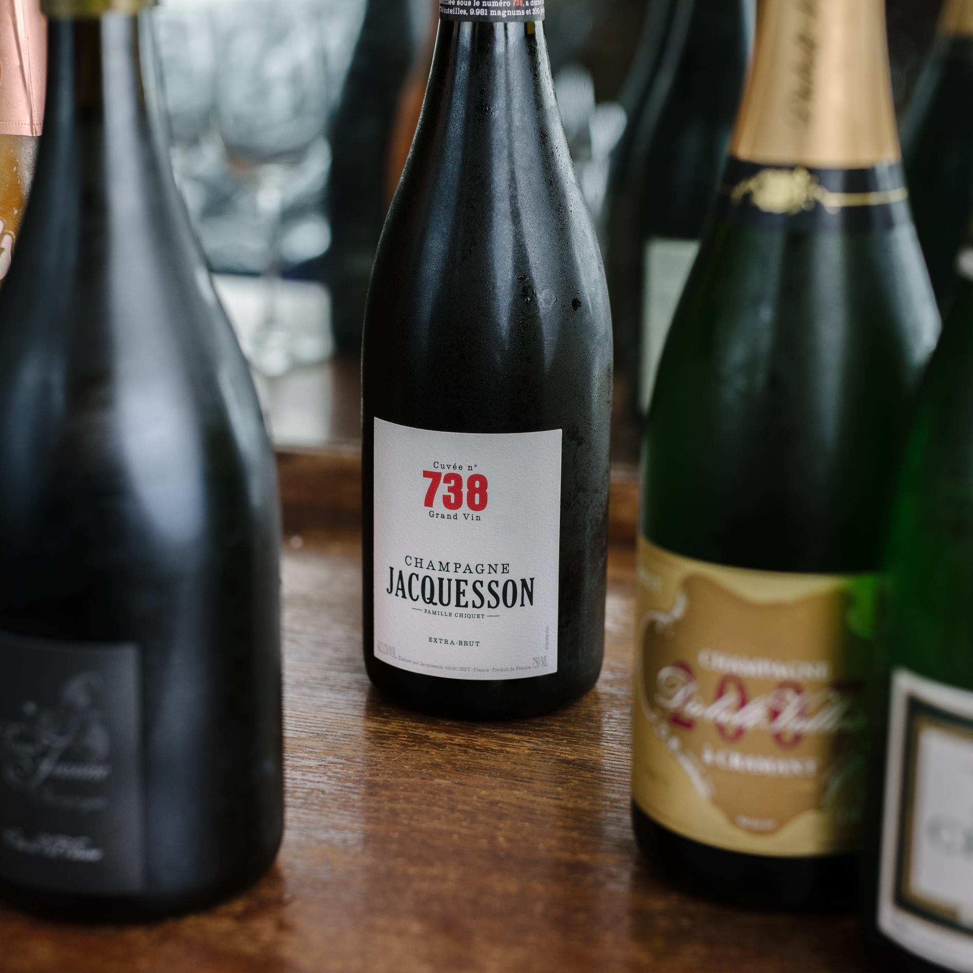 Montecito Restaurant/ champagne