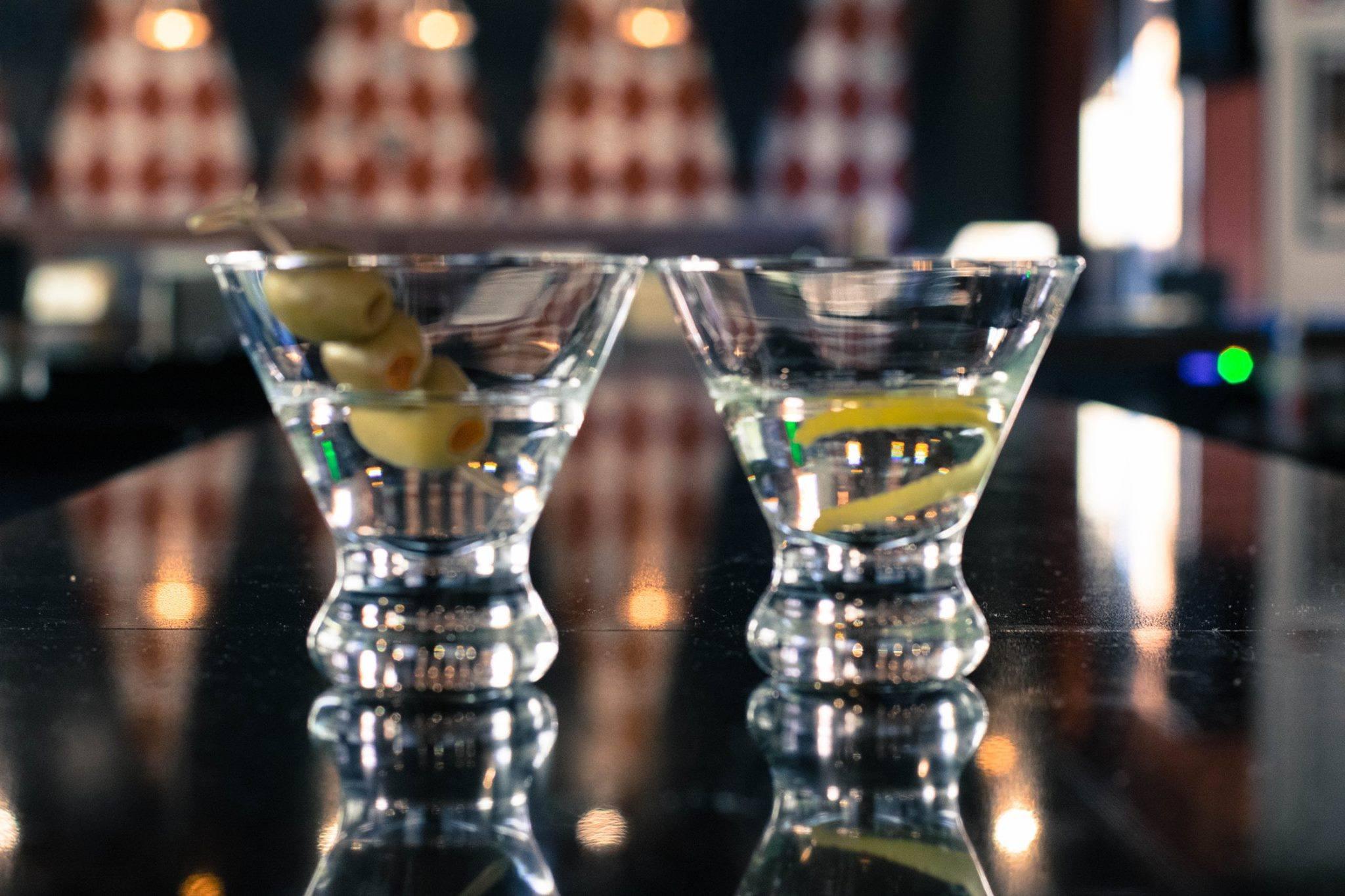 The Ballroom Bowl/ martinis