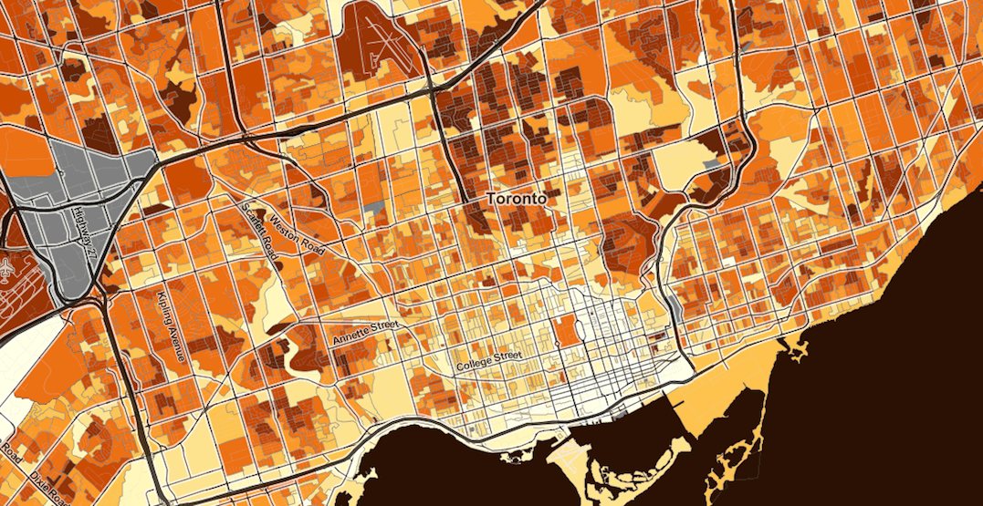 Census halloween map