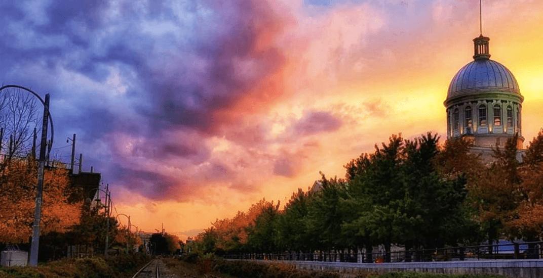13 stunning shots of last night's watercolour-like sunset in Montreal (PHOTOS)