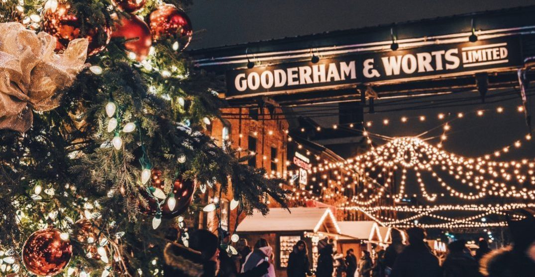 The Toronto Christmas Market opens for the season today