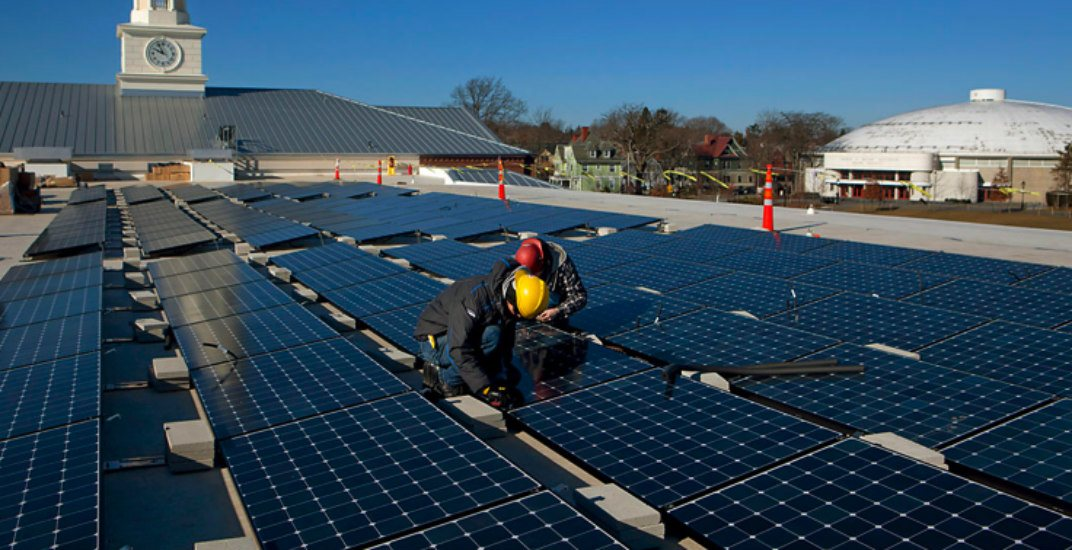 Solar panels actually work better in cold temperatures