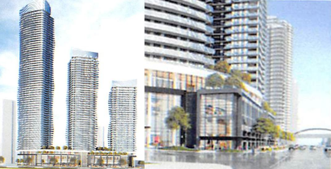 7 towers up to 65 storeys proposed for Sears Metrotown site