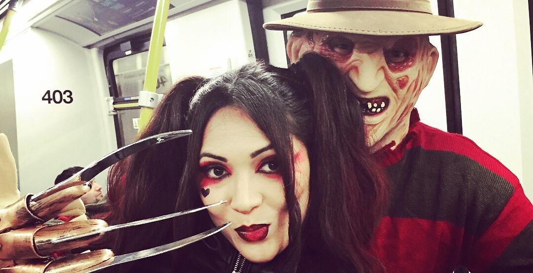 Halloween skytrain party 2017 vpsn instagram