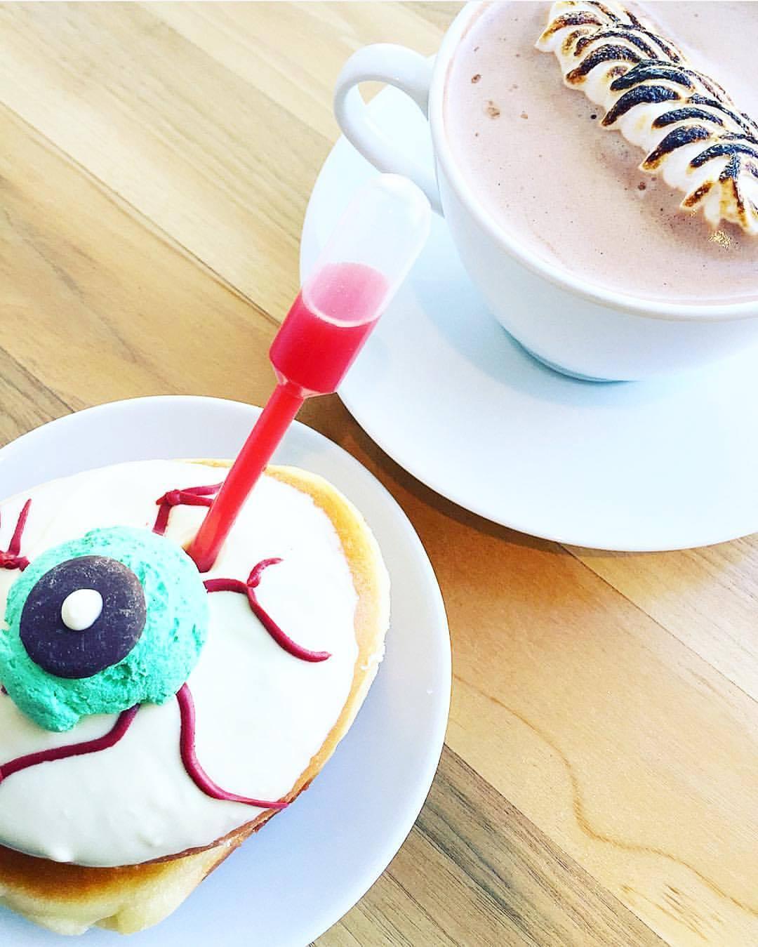 halloween donut doughnuts