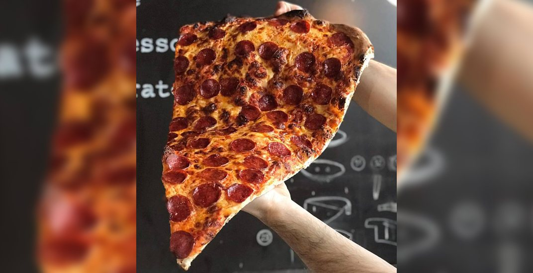 This Toronto bakery just introduced giant pizza slices