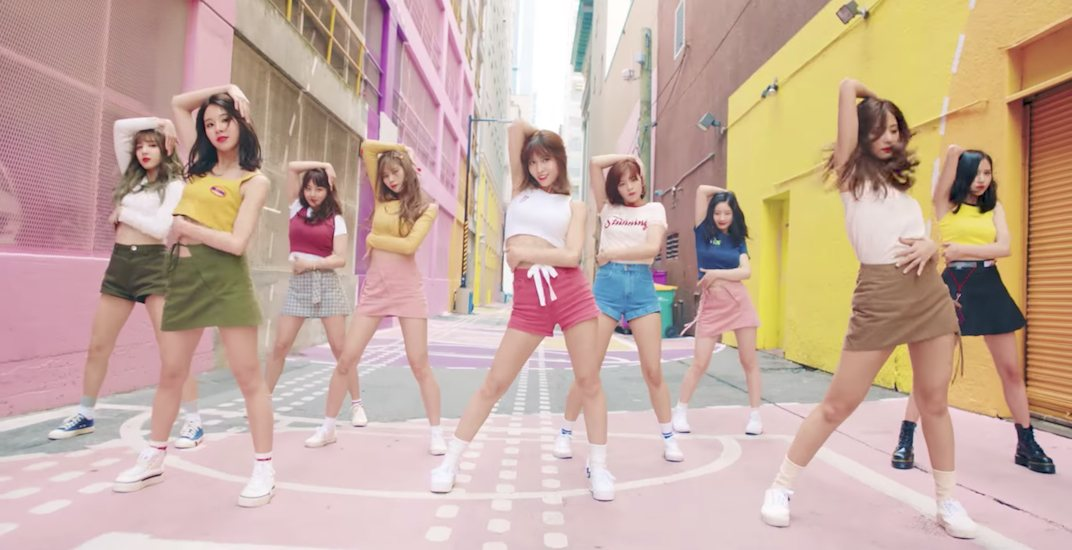 Famous K-pop group Twice's 'Likey' music video is filmed in Vancouver