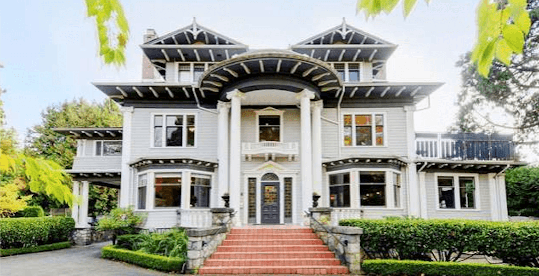 105-year-old $17.8 million Shaughnessy mansion listed as renovation project