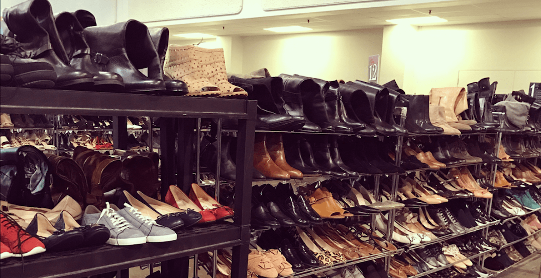 There's a massive designer shoe sale happening in Toronto next week