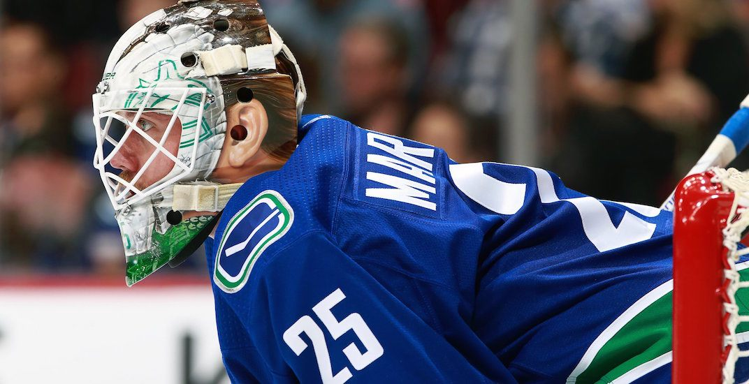 markstrom canucks