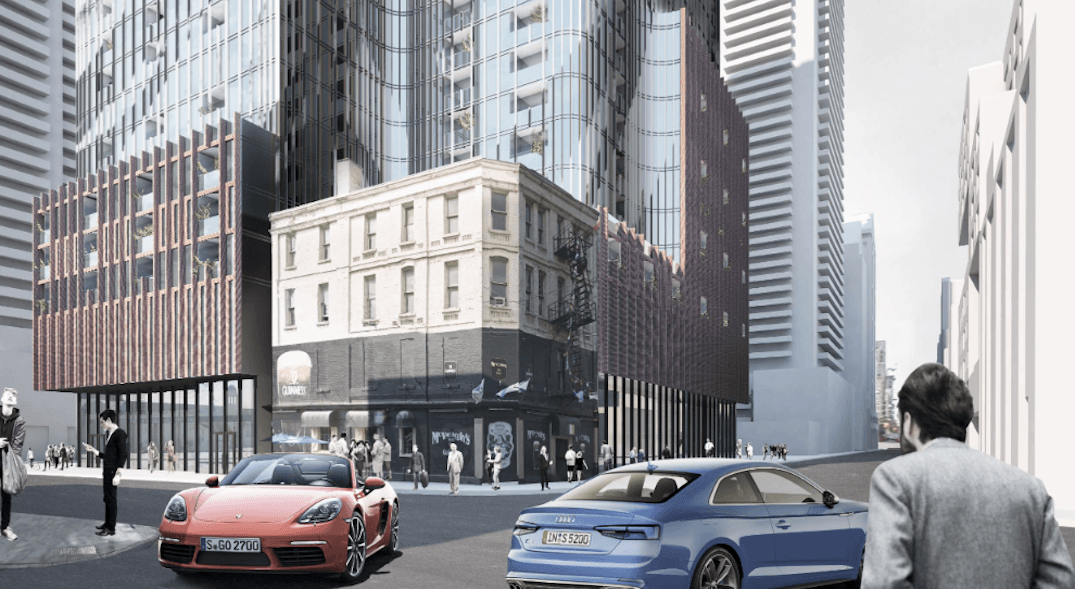 45-story mixed-use tower being proposed at Church and Richmond (RENDERINGS)