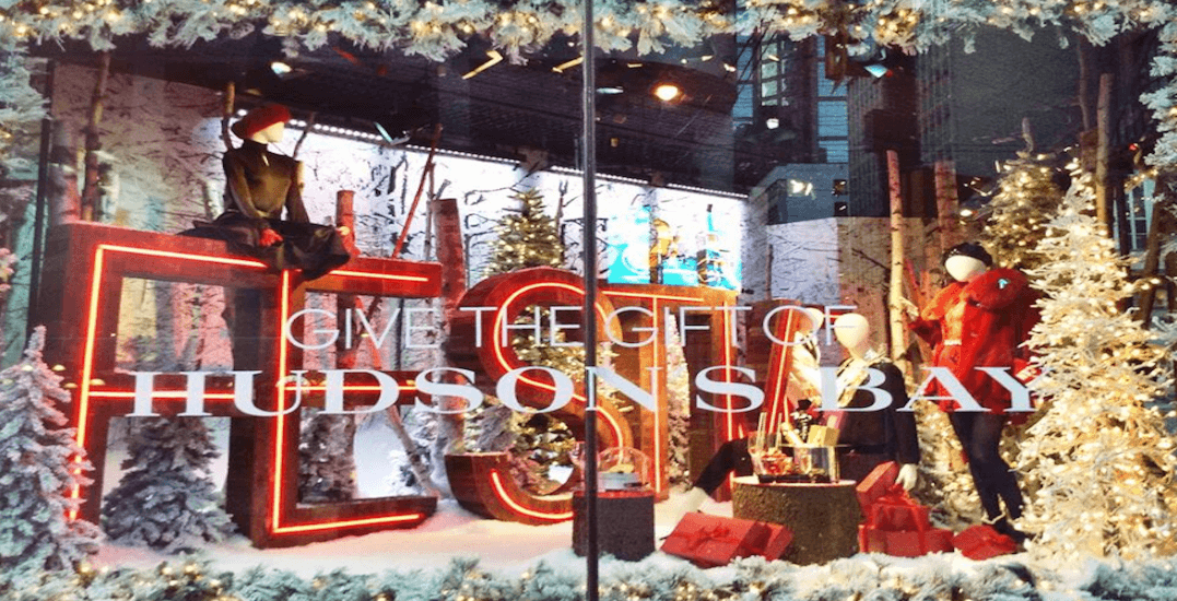 Hudson's Bay and Saks Fifth Avenue to reveal iconic holiday windows this week