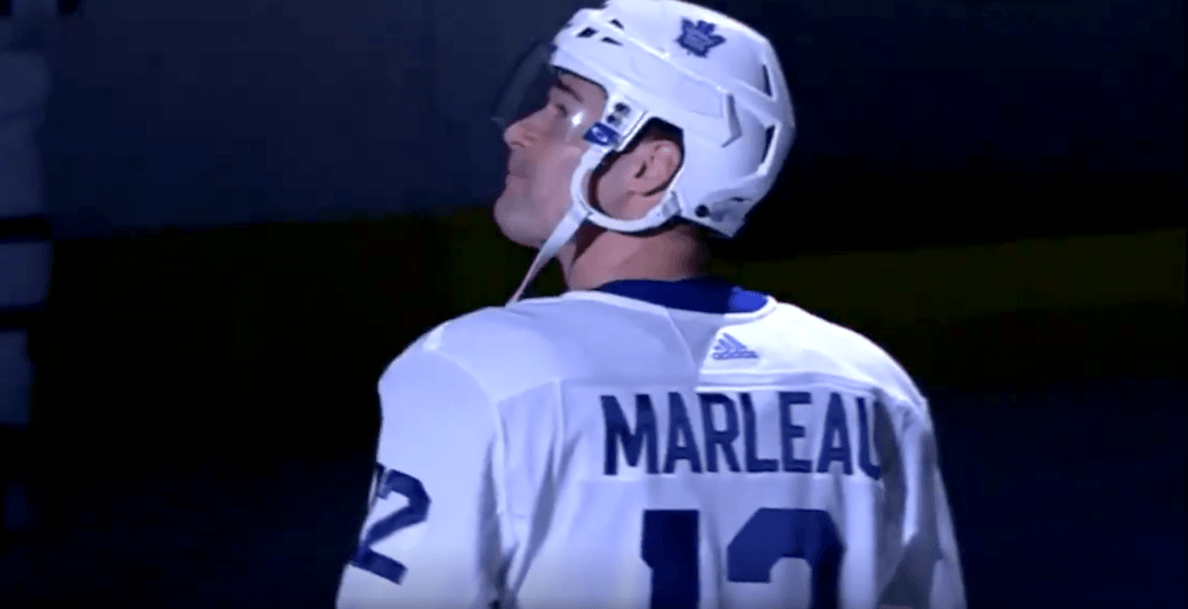 Marleau receives standing ovation in emotional return to San Jose (VIDEO)