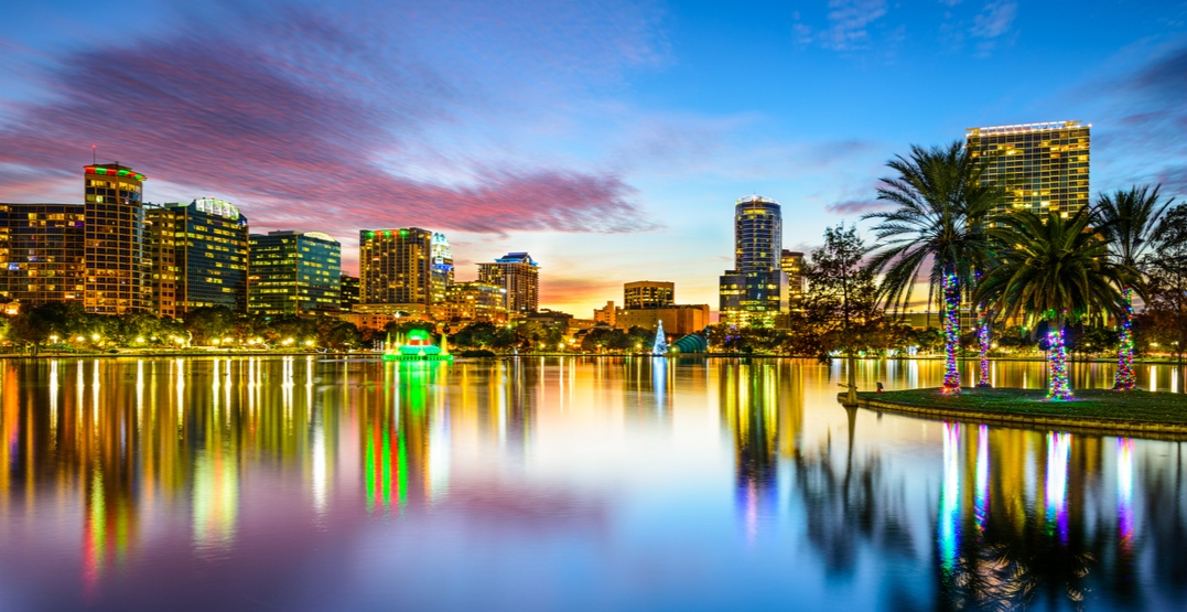 You can fly from Calgary to Orlando for under $300 round trip next month