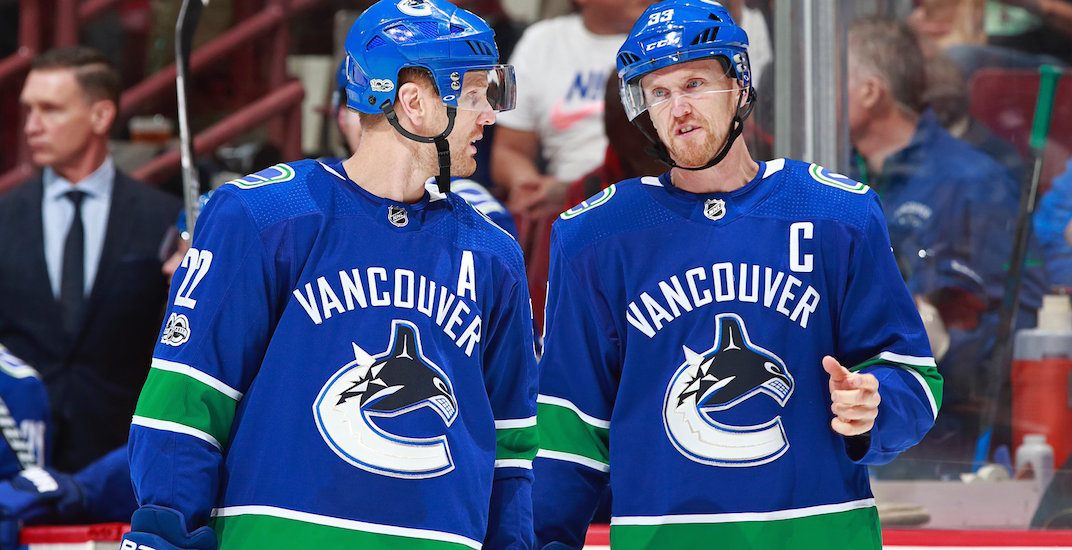 Sedin canucks