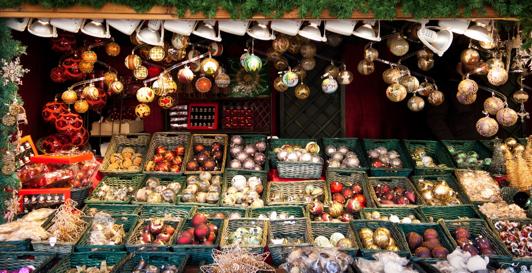 German Christmas Market.A Traditional Free German Christmas Market Is Coming To