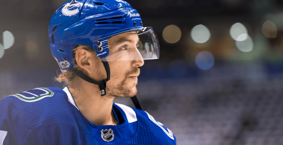 Canucks will risk losing Sven Baertschi for nothing on waivers