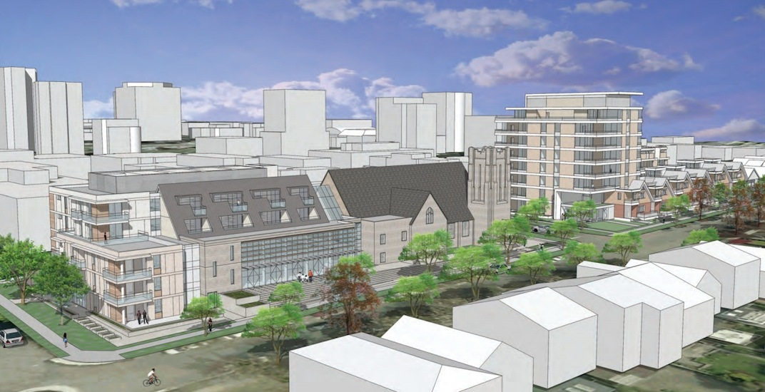 Kerrisdale church redevelopment with social housing approved by City Council