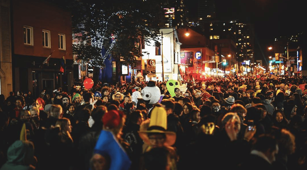 A huge Halloween party is taking over Church Street this month