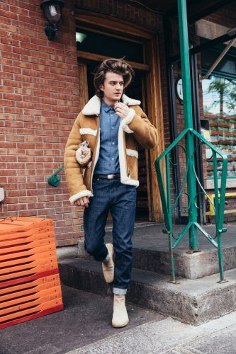 Stranger Things Actor Does Gq Shoot In Montreal