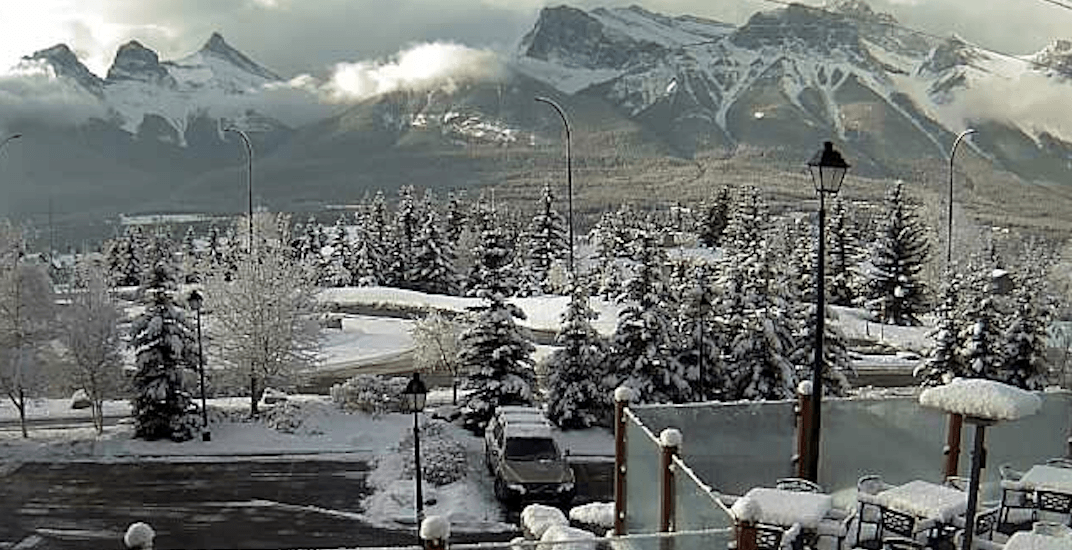 Snowfall warning in effect for Kananaskis, Canmore, and Crowsnest Pass