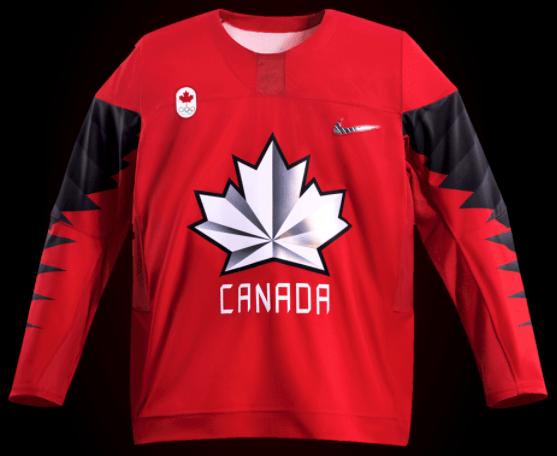 olympics canada jersey