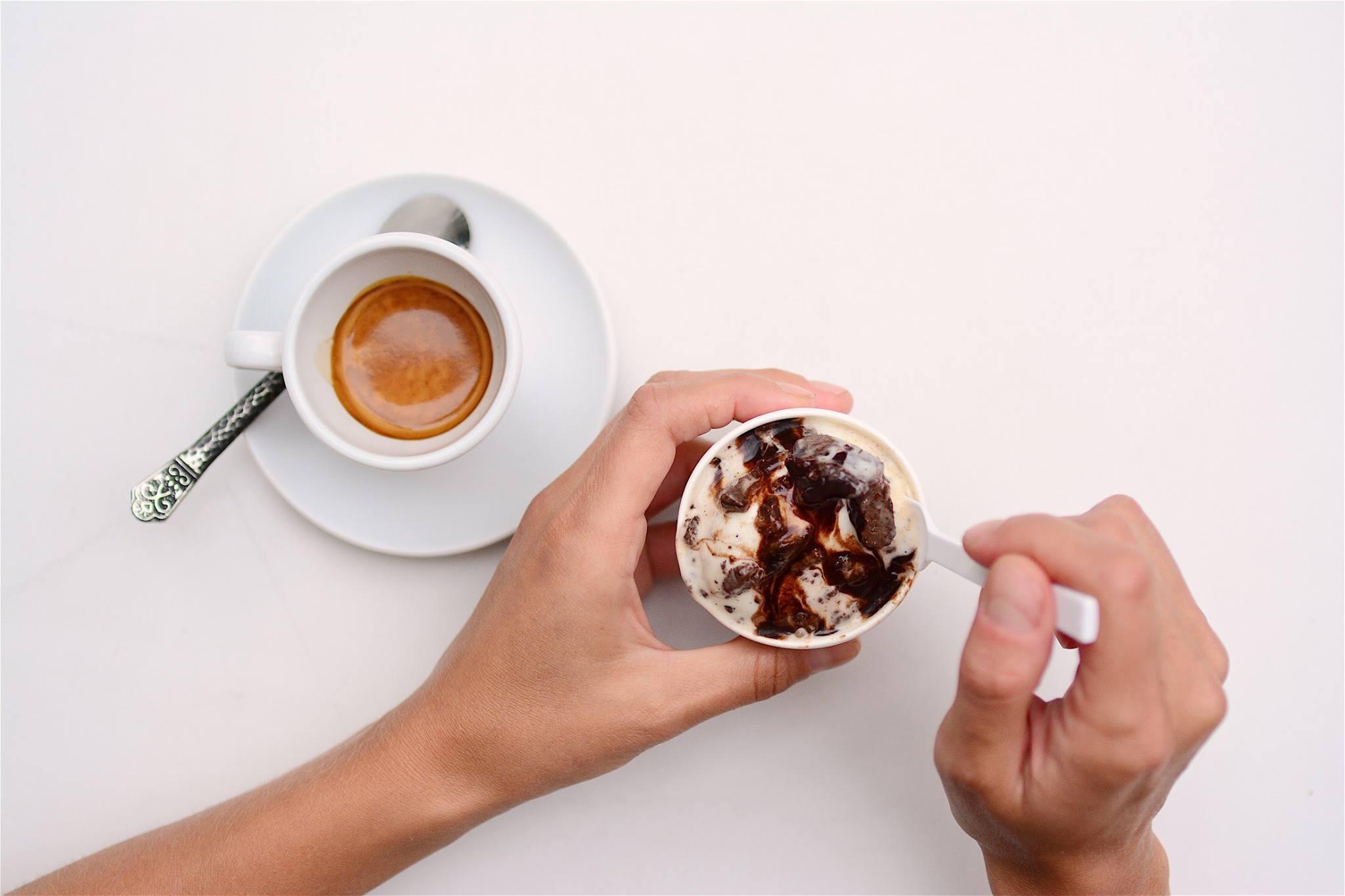 Bar Buca gelato coffee