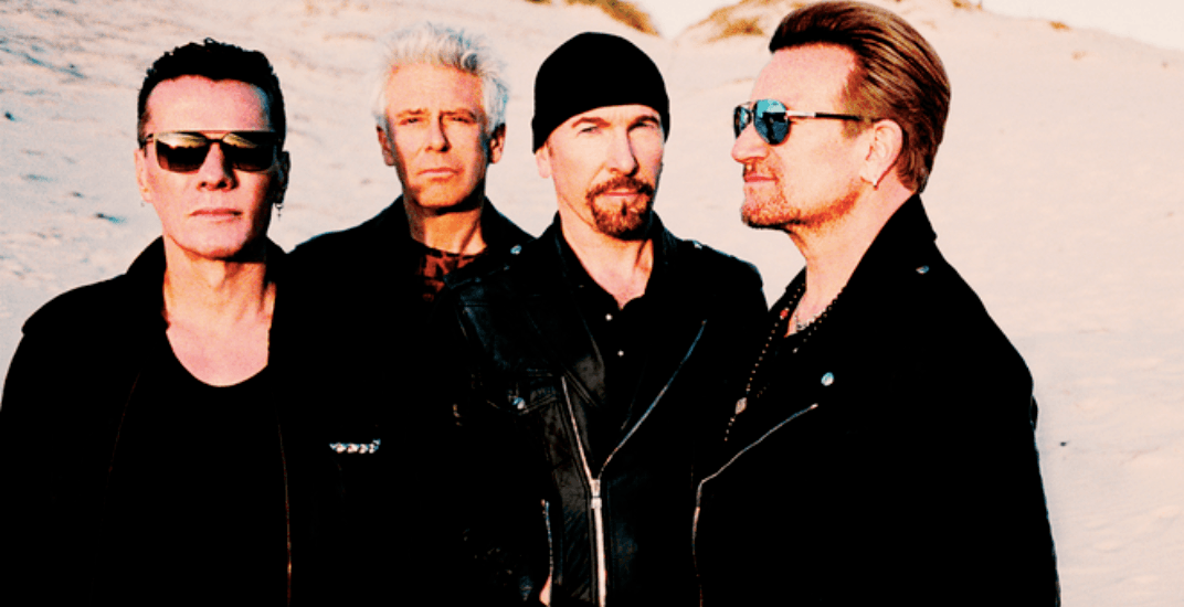 U2 will be stopping in Montreal for their eXPERIENCE + iNNOCENCE tour