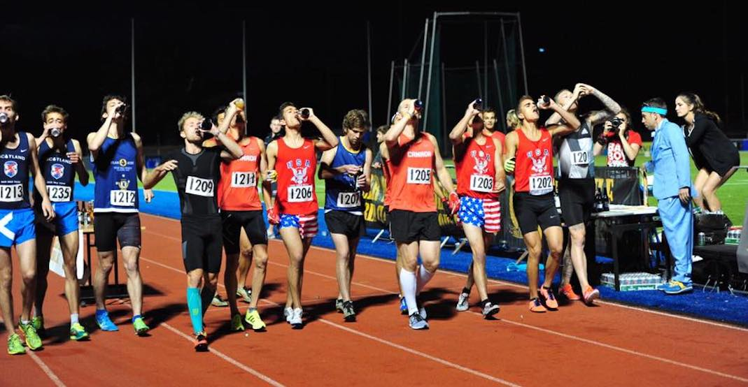Canadian wins Beer Mile World Classic while setting new world-record