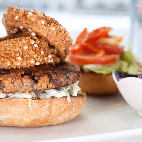 Fresh Restaurants vegan burger